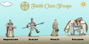 Faith Town Troops by MKerogazov