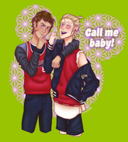 Call Me Baby by Clavelle