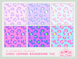 Vector - Lively Leopard BG by firstfear