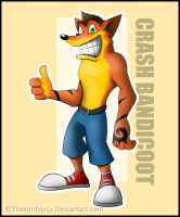 Crash Bandicoot by RatchetMario