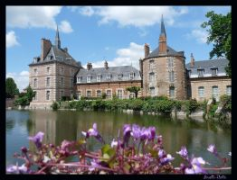 Chateau de Bellegarde 4 by Alouette-Photos