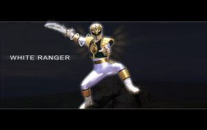 White Ranger 2 by DesignsByTopher