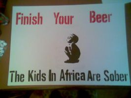 Finish Your Beer by Elergy