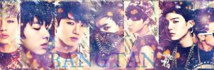 BANGTAN BOYS - WE ARE BULLET PROOF by KateW49