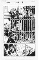 Amazing Spider-Man 557, pg6 by MarkIrwin