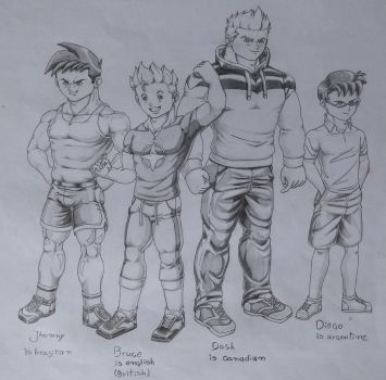 My characters by baraRS