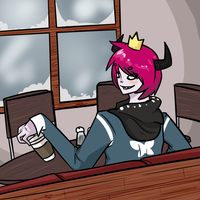 A Cafe for a Prince by atlas-rabbit