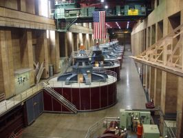 Hoover Dam: Generators by rejectedrocker