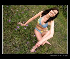 Evi at the meadow by H8me-CZ
