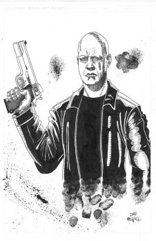 Vic Mackey from 'The Shield' by DanOlwell