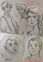 pjo sketches by IzziBelle
