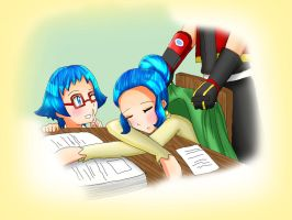 PR Guardian signs: Ssh! Mom is sleeping! by artycomicfangirl
