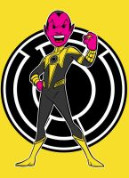 sinestro yellow by AlanSchell