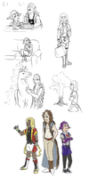 Pocket full of Sketchdump by Doodlee-a