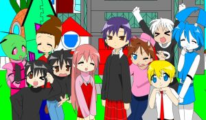 Nicktoons Lucky Star Group Pic by AdvancedDefense