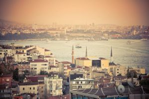 Istanbul Pano by dianora