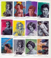 Star wars sketch cards 2 by charles-hall