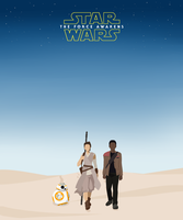 Star Wars The Force Awakens by ShadowCutie1