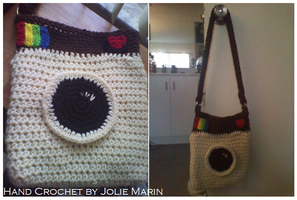 Instagram Shoulder Bag by CreationsbyJolie