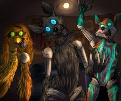 We remember a face like yours... [FNAF] by Terrawolfdog