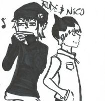 Soul Eater OC Rude and Nico by ED-Boy-wonder-1718