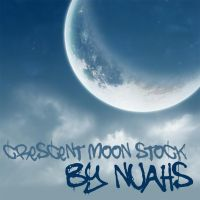Crescent Moon - Stock by nuaHs