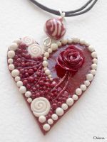 """""""Heart of the romanticist"""" by OrionaJewelry"""