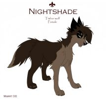 Nightshade Sheet by Kahvie