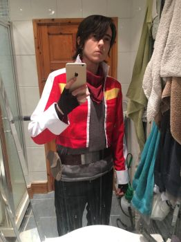 Keith [Voltron Legendary Defender] - Test 6 of 10 by ruuwolf