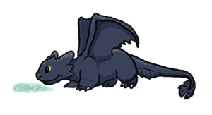 Its a Toothless by RunningSpud