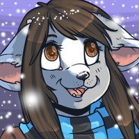 Neko winter icon by strawberryneko33