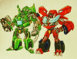 BFTE TWINS, after DOTM... by kishiaku