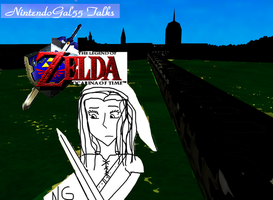 NG55 Talks OoT Title Card by NintendoGal55