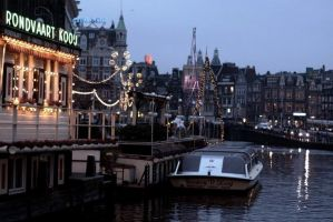 Boat trip to Amsterdam by thedaydreaminggirl