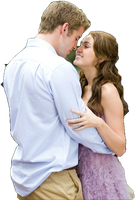 Miley and Liam png by teamdamonlove