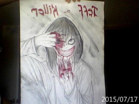Jeff the killer poster by N4mu