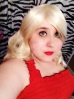 Wig Test for Penelope Garcia by AlysonRoseEcstacy