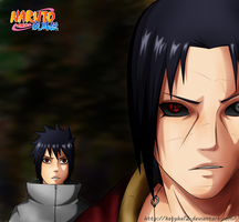 Itachi and Sasuke by Katyha12 by katyha12