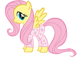 My Little PJs - Fluttershy by volt229