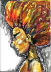 Hair on Fire by intia