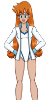 Misty With Long Hair by PerryWhite