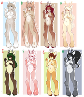 Santa's Reindeer adopts! by l-Blair-l