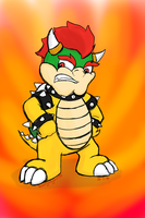 It's Bowser, King of the Koopas! by KookyShyGirl88