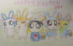 Happy Hammy Easter '09 by Nijihamu-can