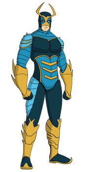Blue Beetle Model [Legacy Series] by NathanSeals