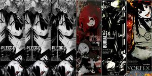 GazettE Inspired Pack 2 by Mio-Alice Lee/Yukkun by AliceTribe