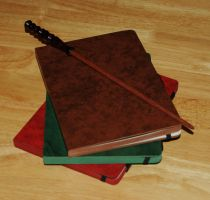 Wand on Books by pricecw-stock