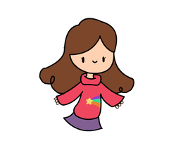 Mabel Pines Chibi by Becca-Chan427