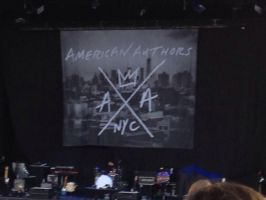 American Authors banner by Cheedo6
