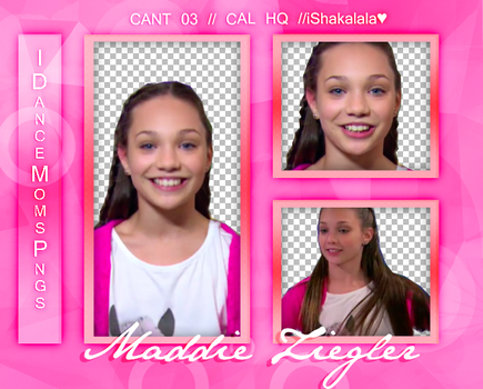 +//Pack png Maddie Ziegler by iDanceMomsPngs
